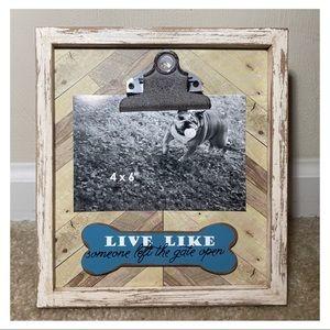 Pet Wood 4x6 Clip Frame